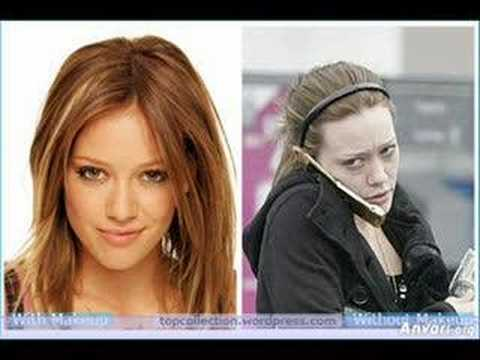 The Most Famous Stars Without Makeup Youtube