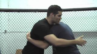 Overhead belly to belly suplex with Chris Weidman