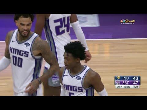 2nd Quarter, One Box Video: Sacramento Kings vs. Indiana Pacers