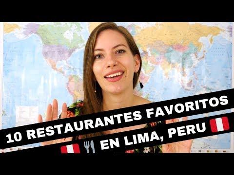 Los 10 Mejores Restaurantes De Lima, Perú