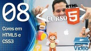 Curso de HTML5 - 08 - Códigos de Cores em HTML5 e CSS3 - by Gustavo Guanabara