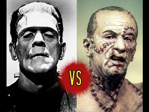 Monster Clash #1 - Frankenstein (1931) vs Mary Shelley's ...