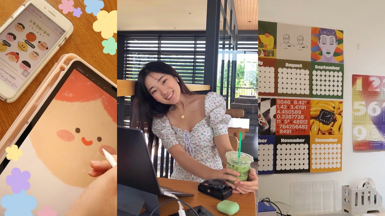vlog | how i track my expenses, a mini clothing haul, getting out from a creative rut