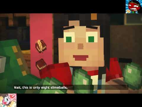 Masky and Kalma Minecraft Story Mode Part 8 The Slime Game