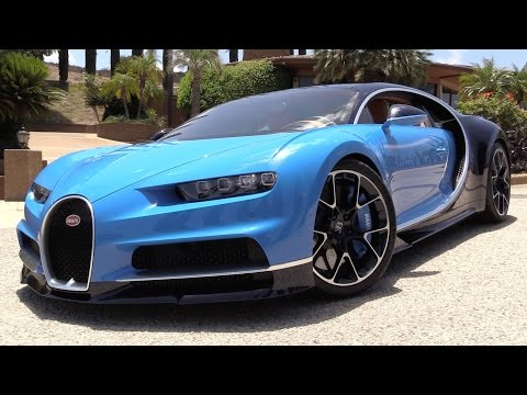 2017 Bugatti Chiron - Start Up, Exhaust & In Depth Review