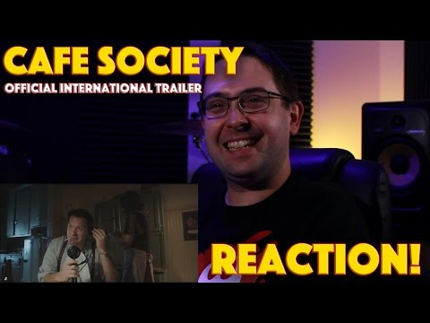 REACTION! Cafe Society Official International Trailer