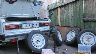 видео Переобуваем авто на зиму