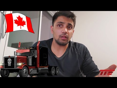 How To Get A Truck Driving License In Canada.
