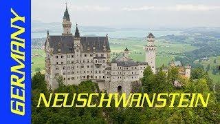 Bavaria Neuschwanstein Бавария: Сон в летнюю ночь. Нойшванштайн.(Bavaria Neuschwanstein Бавария: Сон в летнюю ночь. Нойшванштай Среди заснеженных вершин баварских Альп стоит, захваты..., 2014-02-03T12:57:15.000Z)