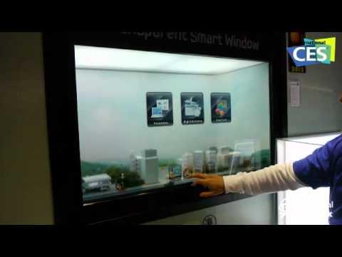 samsung tv transparent. ces 2012 : ecran transparent samsung tv