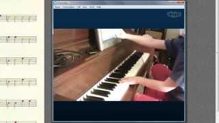 Virtuoso Piano Lesson 5 - Student Colton (Age 7) - 12-19-2014 - via Skype Online