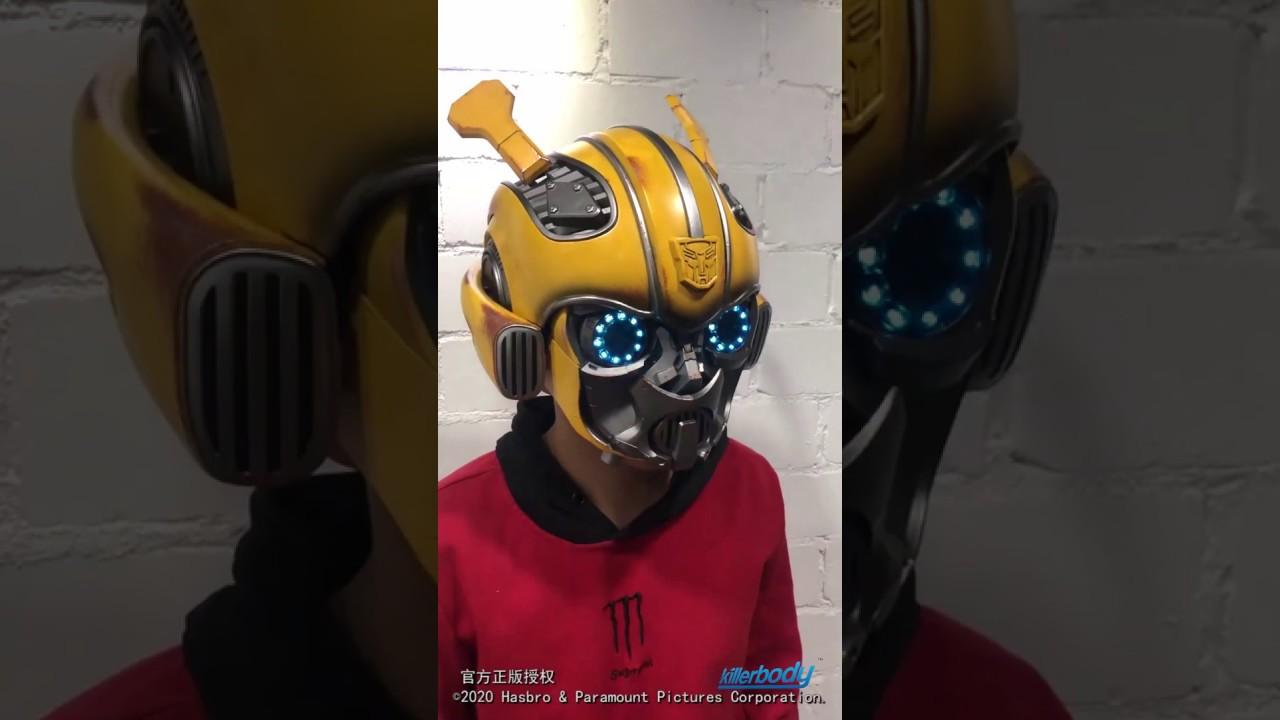Transformers Studio Series Movie Bumblebee Showcase Helmet Bluetooth Speaker US