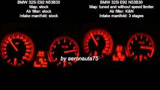 BMW 325i E92 N53B30 218 hp to 272 hp