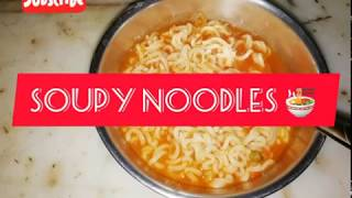 Yummy soupy Maggi noodles 😍