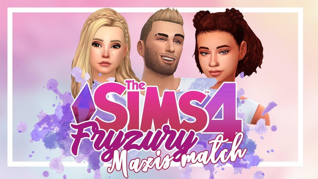 Moje Fryzury Maxis Match 80 Fryzur Do Pobrania The Sims 4