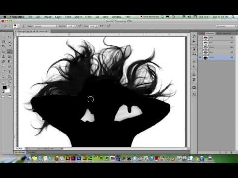 Channel Masks In Photoshop