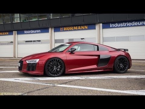Audi R8 V10 Plus w/ MHP Performance Exhaust - Start Ups, Revs, Fly-by's!
