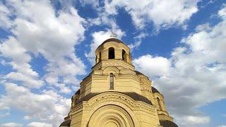 Храм Святого Иоанна. Исторические кадры возведения. Часть 8.
