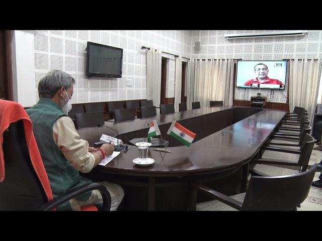 मुख्यमंत्री तीरथ सिंह रावत ने किया पूर्णागिरी धाम में जियो द्वारा संचालित की जा रही 4जी सेवाओ