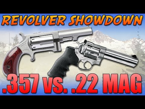 Ruger 357 Magnum Vs North American Arms 22 Magnum