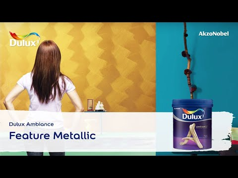 Dulux Ambiance - Feature Metallic - YouTube
