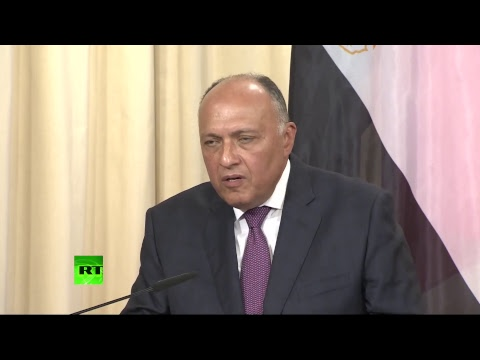 Лавров и глава МИД Египта подводят итоги переговоров