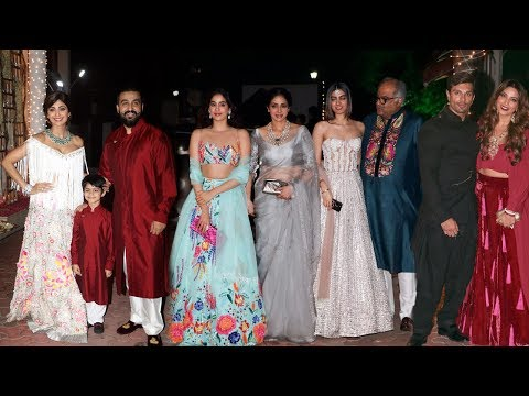 Shilpa Shetty's GRAND Diwali Party 2017 Full Video - Sridevi With Family, Bipasha Basu, Karan Grover thumbnail