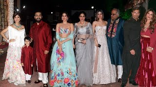 Shilpa Shetty's GRAND Diwali Party 2017 Full Video - Sridevi With Family, Bipasha Basu, Karan Grover