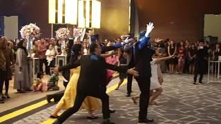 Della & Patrick's Disney Wedding Singing Flash Mob (+ Can't Stop the Feeling!) with Lea Simanjuntak
