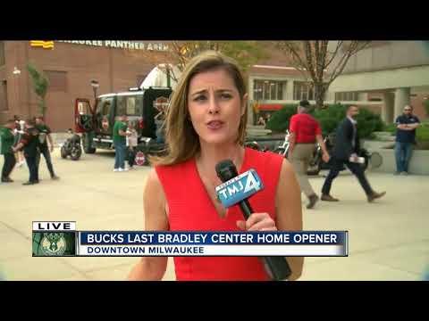 Bucks open season at Bradley Center for the last time