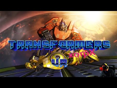Transformers WFC (HTC Vive VR vorpX Gameplay) Que Stan Bush!