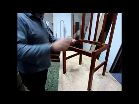 Bricolaje y chapucillas 1 silla desencolada youtube - Como tapizar sillas de madera ...