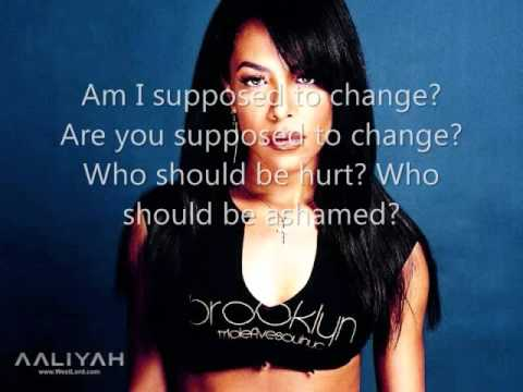 AaliyahWe Need A ResolutionLyrics