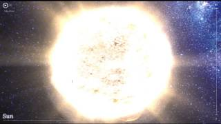 HD - THE SUN, NEAREST STARS and the MILK WAY - 100,000 Stars