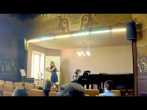 Хмеленко Надежда 13 лет флейта (flute) Godard - Waltz