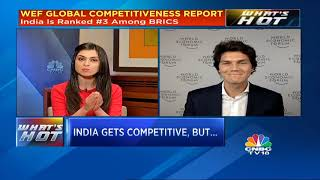 WEF Global Competitiveness Report: India Ranks 58 In 2018