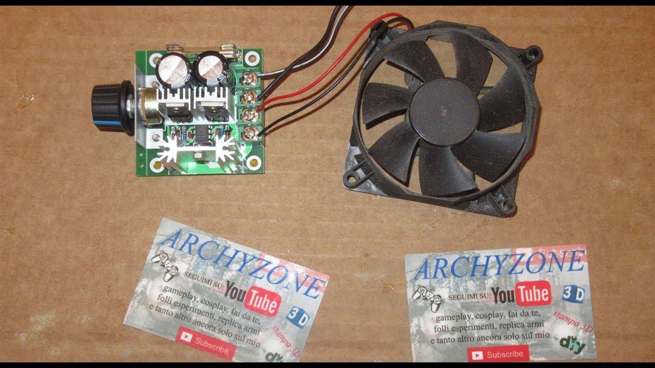 Schema Elettrico Ventilatore Velocità : Come montare un regolatore di velocità per motori a 12 volt ventole