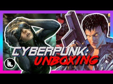 Cyberpunk 2020/2013 RPG Unboxing | Cyberpunk Lore