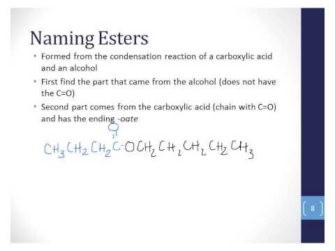 06 - Carboxylic acids and esters