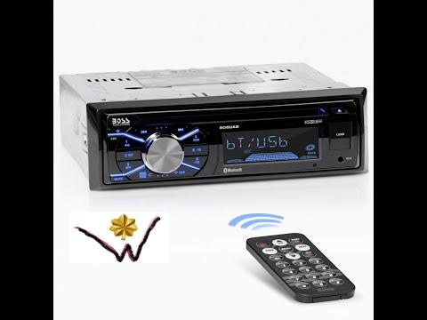 BOSS 508UAB Multimedia Car Stereo
