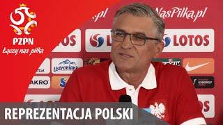 Konferencja reprezentacji Polski (23.05.2016)