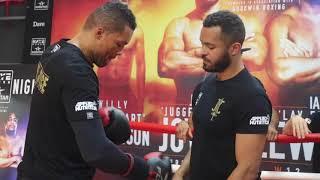 JOE JOYCE (FULL & COMPLETE) MEDIA WORKOUT AHEAD OF CLASH W/ IAN LEWISON / JOYCE v LEWISON