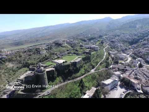 Gjirokaster Albania & Libohove Aerial Video Drone