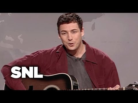 Adam Sandler Sings The Hanukkah Song - SNL