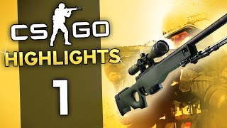 CS GO Highlights Ep 1 - QUAD CLUTCH AND COLLAT