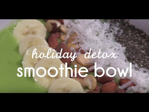 Commodores' Kitchen Season 3: Holiday Detox Smoothie Bowl