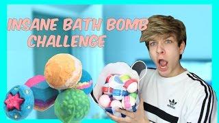 EXTREME BATH BOMB CHALLENGE | Nathan Triska