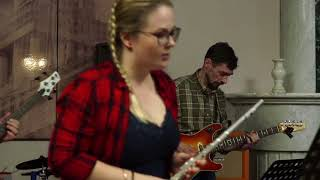 �������� ���� Bouree (I.S.Bach) - Камерный ансамбль FluteVirtuosus (Флейта,гитара,бас,установка) - Анна Махова ������