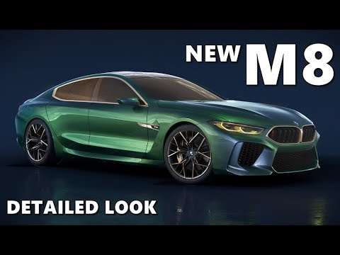 new bmw m8 gran coupe walkaround youtube. Black Bedroom Furniture Sets. Home Design Ideas
