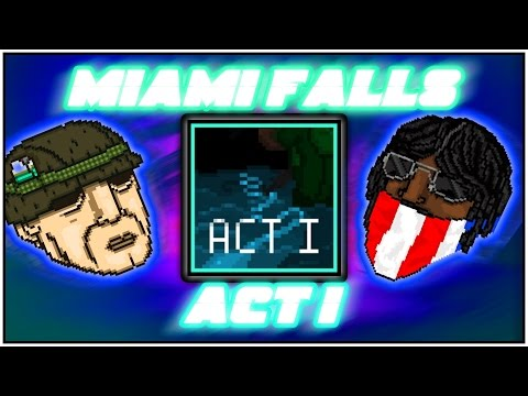 Miami Falls - Act 1 | Hotline Miami 2 Level Editor [FULL CAMPAIGN]